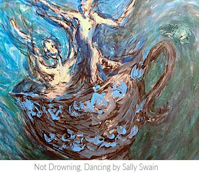 Painting Not Drowning, Dancing by Sally Swain